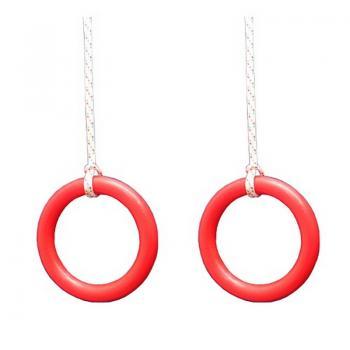 Кольца гимн.с веревками, арт. ДСК (2,4м)
