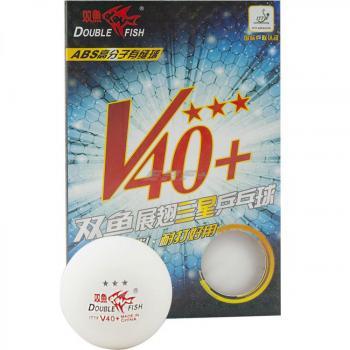 Мяч для настольного тенниса Double Fish 3*** (6 шт), 602776