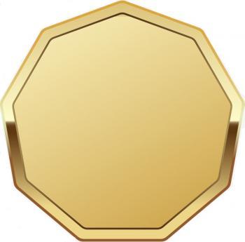 Таблички на кубки восьмиугольные